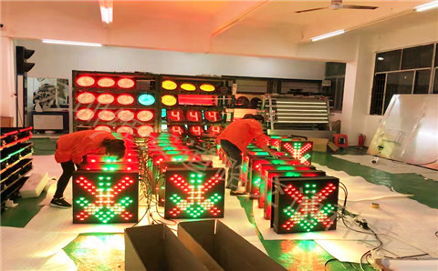 红叉绿箭雨棚灯10