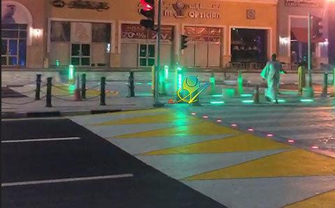 智慧斑马线地砖红绿灯4