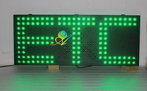 紅叉綠箭顯示屏